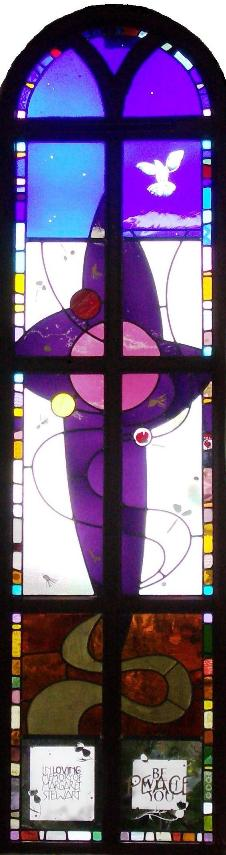 Peace Window at Garstang URC