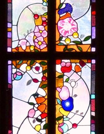 Details from the Joy Window